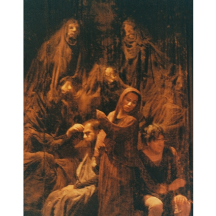 Ο Χουρμουζιάδης από το 1980 έως το 2010 σκηνοθέτησε στην Πειραματική Σκηνή της Τέχνης 26 θεατρικά έργα. Στην φωτογραφία: Άλκηστη (1992).